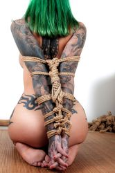 Bliss, in suspension - part 1/3 by ropemarks