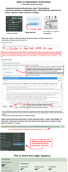 Points To PayPal (or check) TUTORIAL by Sergle