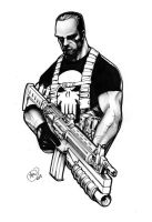 Punisher by AdamWithers