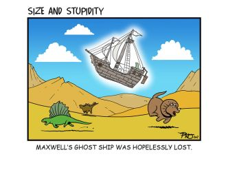 Ghost Ship by Size-And-Stupidity