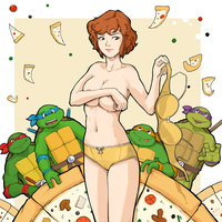 Pizza Power (turtles dream) by kola411