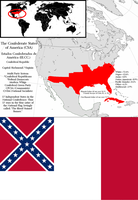 Confederate States of America: (Alt: History) by IIICrewsalonian