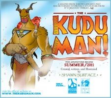 KUDU MAN promo by SURFACEART