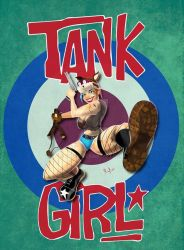 Tank Girl by Rufio0