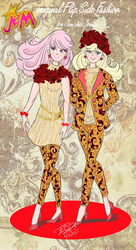 Jem original autumn Flip Side Fashion by E-Ocasio
