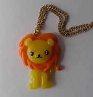 Lion necklace by LaManish