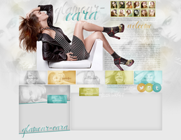 Layout ft. Cara Delevingne by Andie-Mikaelson