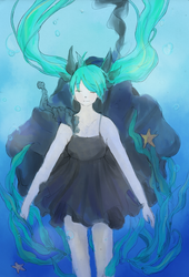 Deep Sea Girl by DingDingy