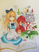 Alice in Wonderland by Merindity