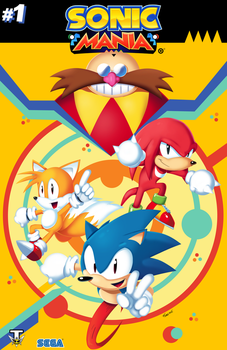 Sonic Mania cover by SonicKnight007