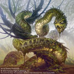 Giant Swamp Adder by D8P