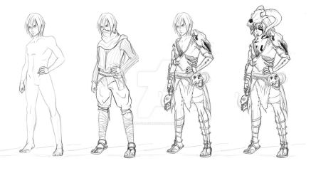 Character design : Gavril Danzescew by Fura-Falevan