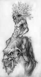 'horny' creature by chavdar-tn
