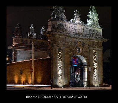 Brama Krolewska - Kings Gate by gshegosh