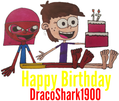 Happy Birthday DracoShark1900 by HyperDolphin