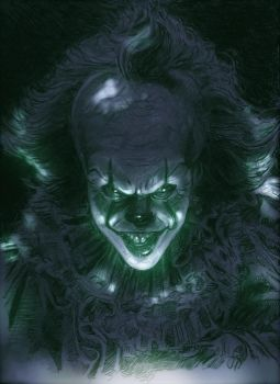 IT  2017 PENNYWISE  A4 by Legrande62