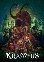 Krampus fan poster by cinemamind
