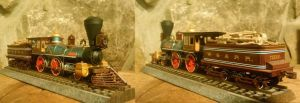 The Texas in HO scale by Eddie-Sand
