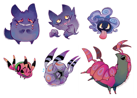 Pokemon Stickers 14