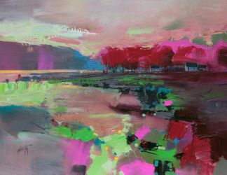 Cowal Cottages by NaismithArt