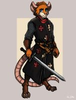 Mouse Hospitaller - Jonathan Altman by TheLivingShadow