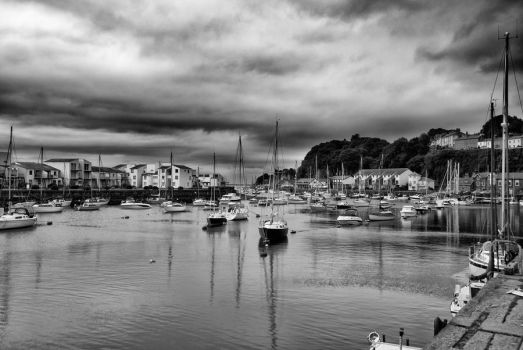 Portmadog Harbour by smoothsac