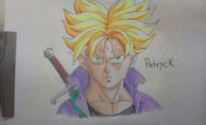 Mirai Trunks by Patryckfr
