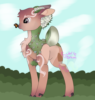 Valerifawn, Mystical Beast of the Forest by SubtleBrush