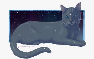 Day 1 - Bluestar by Lilacfeathers