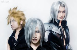 FF7: Advent Children by ArtNinjaPH