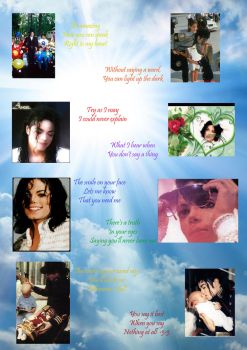 When You Say Nothing At All -MJ Tribute- by QueenOfCelebrities94