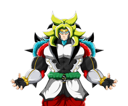 Broly LSSJ6 (Gods of Gods) (Rendered) by TraxLord94