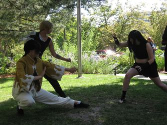 Ed, Ling and Envy FMA NDK 2012 by Leap207