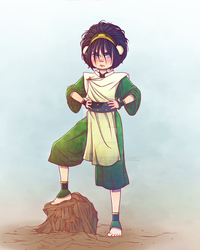 Toph Beifong by Limei-chan