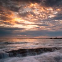 Golden Lining by isotophoto