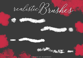 Realistic Brushes | by  SilverDust by heymaryjean