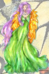 Fluttershy - Haute Couture by Mellorine91