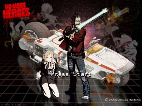 No More Heroes Wallpaper Start by Billysan291
