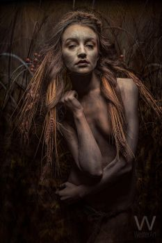 Straw Angel by WesterArt