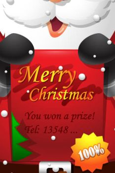 Xmas iphone Wallpaper 1 by harwenzhang