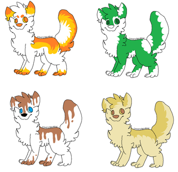 Adoptables! by CrazyBeanie