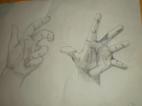 Hand sketches by Pauloka1ss