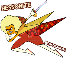 Hessonite (Semi-Canon Style) by BFDIFan1234