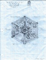 Steampunk TARDIS Console Layout by holmesian1891