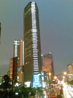 Babel in the middle of Jakarta by lapartie7