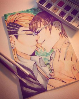 if you die, i'll lay a single kiss upon your cheek by haku--mei