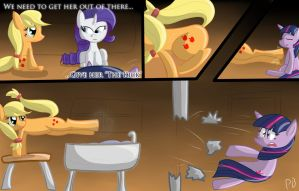 Ponyception: The Kick by Penguin-Potential