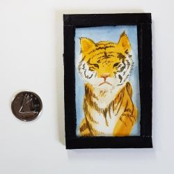 MiniPainting: Tiger by GlowingMember