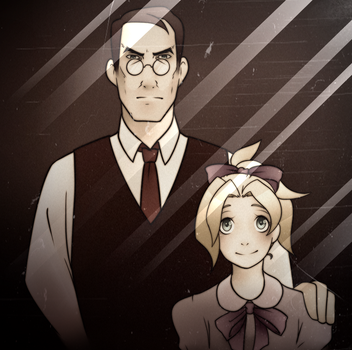 Father and Daughter by Kutori