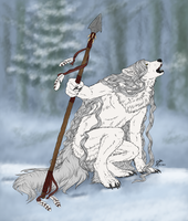 Winter howl by snoissesbo